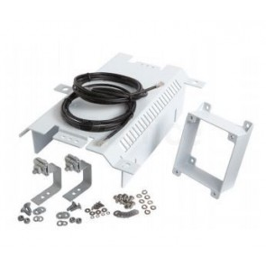 Ruckus Mounting Kit, Aerial Strand-Universal Kit for Fiber Node, ZF7761-CM, ZF7762,ZF7762-AC. Includes, strand hanger brackets, sun shade, spacer and 2 outdoor rated data cables.