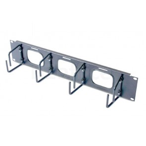 APC Horizontal Cable Organizer 2U w/pass through holes