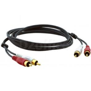 Кабель Kramer Electronics C-2RAM/2RAM-3 стерео аудио 2RCA-2RCA (вилки-вилки) 0,9 метра