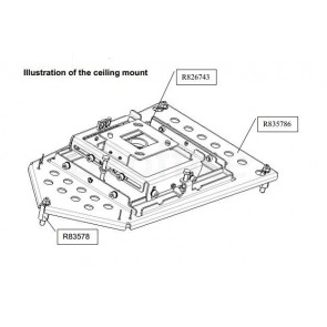 Barco Ceiling mount Kit