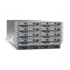 Cisco UCS 5108 Blade Svr AC Chassis/0 PSU/8 fan/0 fab extdr