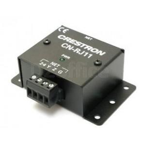 Crestron 4-Wire Terminal Block to RJ11 Cresnet Converter [CNRJ11]