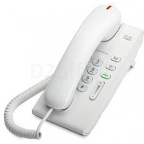 Cisco UC Phone 6901, White, Slimline handset
