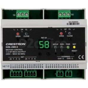 Crestron DIN Rail Motor Control [DIN-2MC2]