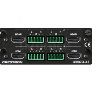 4 HDMI w/4 Stereo Analog Audio Output Card