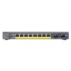 Управляемый гигабитный Smart-коммутатор на 8GE+2SFP портов (из них 8GE портов с PoE) с внешним блоком питания и функциями энергосбережения, PoE бюджет до 46 Вт