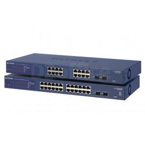 NETGEAR Управляемый гигабитный Smart-коммутатор на 14GE+2SFP (GS716T)