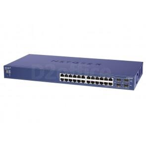 NETGEAR Управляемый гигабитный Smart-коммутатор на 20GE+4SFP (GS724TS)