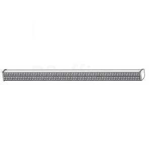 Двойной светодиодный светильник для ВКС. Размер: 1219.2 x 81.54 x 88.9 мм.