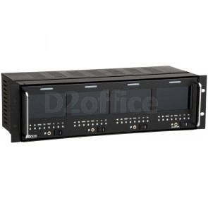 "tvONE Rack Mount Quad 4"" HDTV Monitors"
