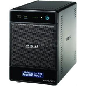 NETGEAR ReadyNAS Pro 4 на 4 SATA диска (4 диска по 2ТБ)