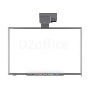 SMART Board 660, проектор UF75, расширенная панель управления ЕСР и крепление (комплект)