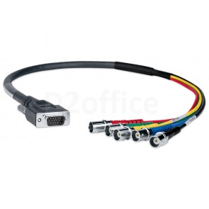 Extron SY VGAM-RGBHVF (Pigtail) (2'/ 60 cm)