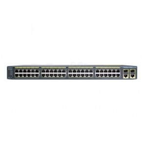 Cisco Catalyst 2960 48 10/100 PoE + 2 1000BT +2 SFP LAN Base Image